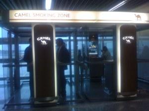 Aeroporto di Francoforte - I fumatori non sono discriminati
